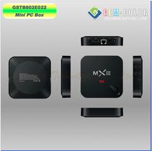 Quad Core Amlogic S802 Android Mini PC TV Box 1G/8G WIFI 802.11n Bluetooth, XBMC, DLNA, Miracast