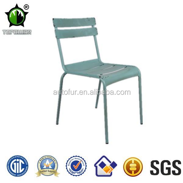 progettato mobili da giardino in metallo sedie-Sedia in metallo ...