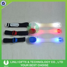 New Plastic Multicolor Led Lighting Band,Led Flashing Bag Band For Camping,Hanging Led Lights On Armband