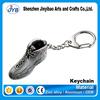 metal custom logo shoes shaped key chains custom boot shape 3d keychain