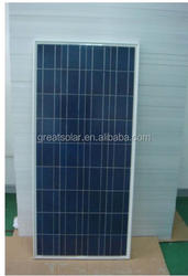 Best quality and competitive price! 130w 12v Poly Solar Module, High Quality, Top Supplier from Alibaba
