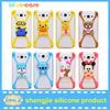 China bulk cheap price multi colorful mobile phone case universal animal shape phone case