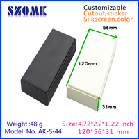 small switch plastic boxes enclosure for electronic device