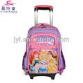 Los niños de la escuela bolsa con ruedas para las niñas, trolley escuela de bolsa, los niños bolsa de viaje trolley
