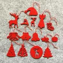 2015 newest felt decoration costomed christmas tree decoration