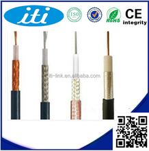 RG6 Communication Cable Manufacturer CCTV/CATV/Satellite/Antenna One Conductor RG6 Coaxial Cable 0