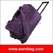 TR0263 new purple travel world trolley bags 2013