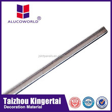 Alucoworld waterproof and self-cleaning fireproof outdoor usage wall decoration material