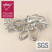 2015 fashion designs brilliant rhinestone brooch pin