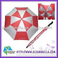 double canpoy windproof gift umbrella