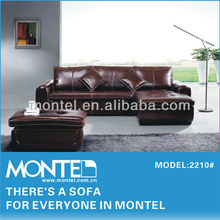 Genuine leather sofa /sofa bed set import from china