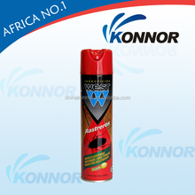 600ml Effective aerosol insecticide spray and cockroach killer for pest control