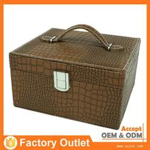 upmarket custom brand make up hard cosmetic case