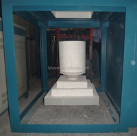 Industrial Electric Bottom Loading Ceramic Crucible Melting Furnace with 20L Zirconia Crucible for metal/glass