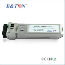 compatible cisco 10Gbps 1270nm/1330nm Bi-Directional 60km Single Mode Single LC SFP+ Transceiver Module with DDM