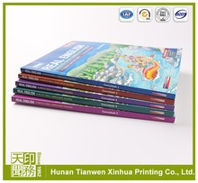 customised hard cover magazine booklet printing