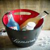 led ice bucket cooler