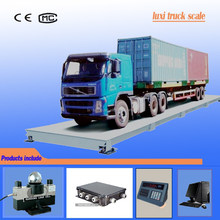 Luxi electronic scale 70 tons digital modular weighbridge truck scale supplier