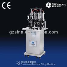 Smart design four-head perfume vacuum filling machine
