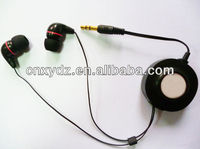 promotional best sound isolating earphone/stereo gift earphone cute earphones for iphone5 Mp3 Mp4 mobile phone