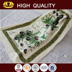 compressed cleaning towel kitchen dish towels with vintage design