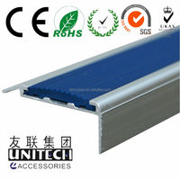 Aluminium Stair Nose Metal Step Nosing Profile
