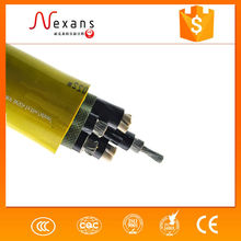 Nexans supplier galvanized copper conductor rubber insulation mine cables