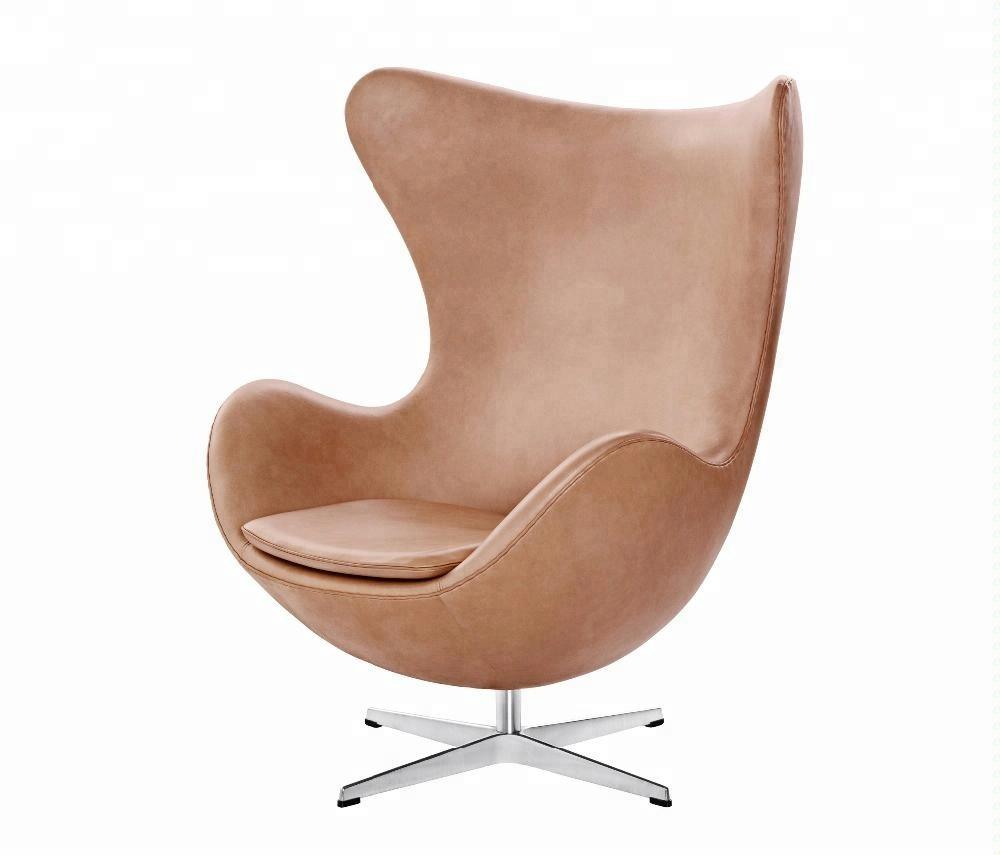Cáscara de huevo sillas muebles escandinavos silla venta al por mayor, importación de EE. UU. de muebles de lujo