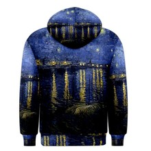 custom logo sublimation river/star print colors hoody