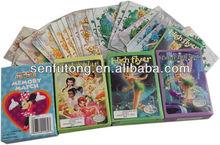 cartões de jogo dos desenhos animados quentes