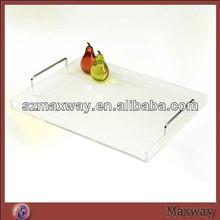 Modern Designed Acrylic Plastic Trays Bar