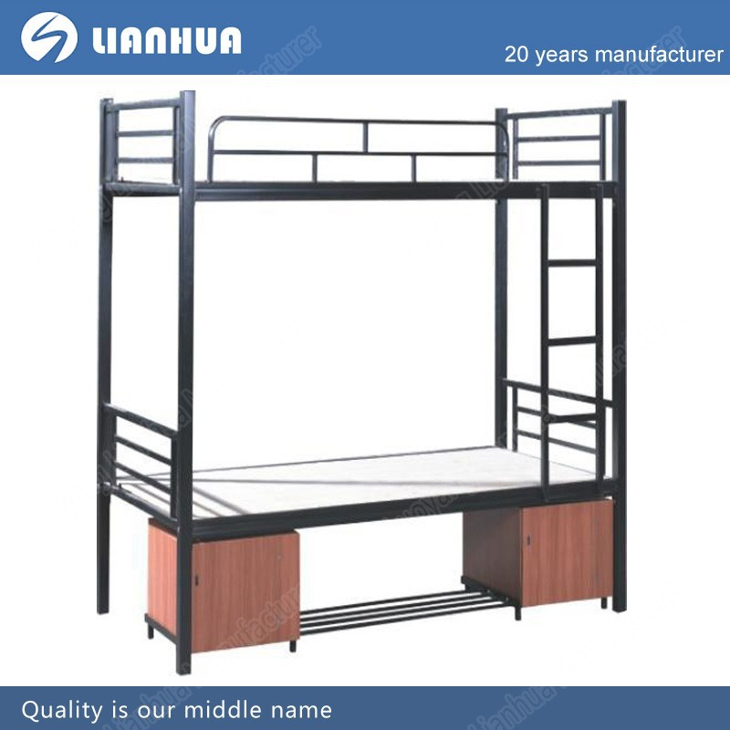 High loading capacity metal frame cheap queen size bunk for Cheap bunk bed frames