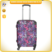 2015 Environment lightweight new design PP travel luggage hot selling trolley bag protective cover luggage for men and women