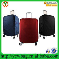 2015 costom travel suitcase protective spandex luggage cover