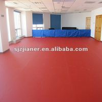 pvc sport flooring used for wide application with pictures