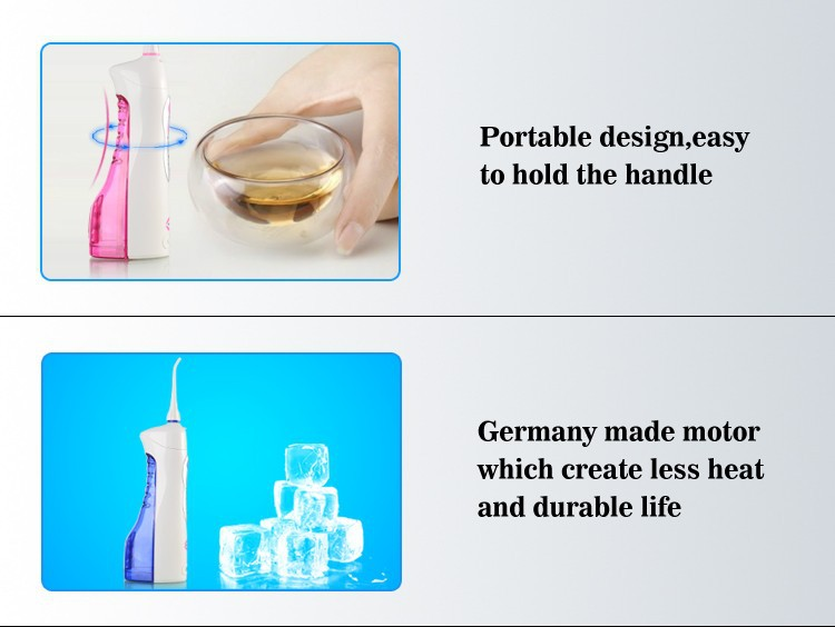 rechargeable oral irrigator gum dental water jet flosser teeth flossing cleaning ebay. Black Bedroom Furniture Sets. Home Design Ideas