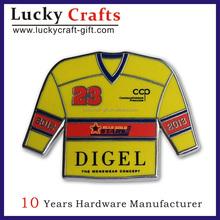 sport emblems/Custom logo lapel pin/metal pin badge making