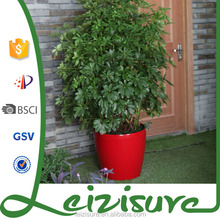 2015 cheap hot selling garden hydroponics decorative plastic flower pot indoor and outdoor