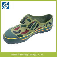 military rubber bottom low cut training camouflage shoes