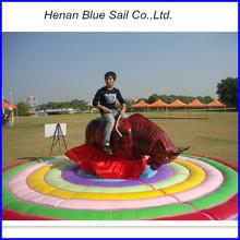 Hot Sale Amusement Park Games Kids Inflatbale Mechanical Bull For Sale
