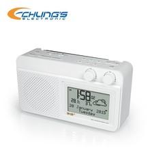 DAB / FM clock radio with headphone jack
