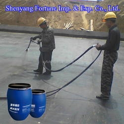 Cheap Black Bitumen Liquid Rubber Roof Waterproof Coating ( FT7-9KD )