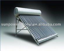 Sun power solar water heater sus304