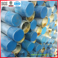 threaded low carbon galvanized steel pipe in stock
