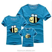 Customized Unisex Lovely Short Sleeve T-Shirt Family Clothing