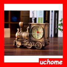 UCHOME Antique Creative Train table clock