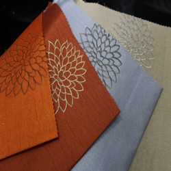 100% polyester hotel,office,cafe use and embroidered pattern window douppion drapes curtains