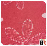 600d 100 polyester printed pvc coated oxford fabric