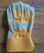 Deerskin leather safety gloves winter 2012