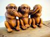 Guo hao hot sale custom monkeys figurine , resinic monkeys figurine